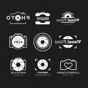 Photography logo collection