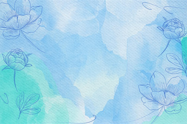 Powder pastel watercolor background design